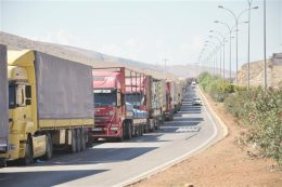 افزایش تعرفه عبور کامیونهای ترکمنستان از ایران ابلاغ شد