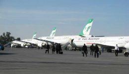 فرودگاه اهواز ۳۰۰ درصد مازاد پرواز دارد