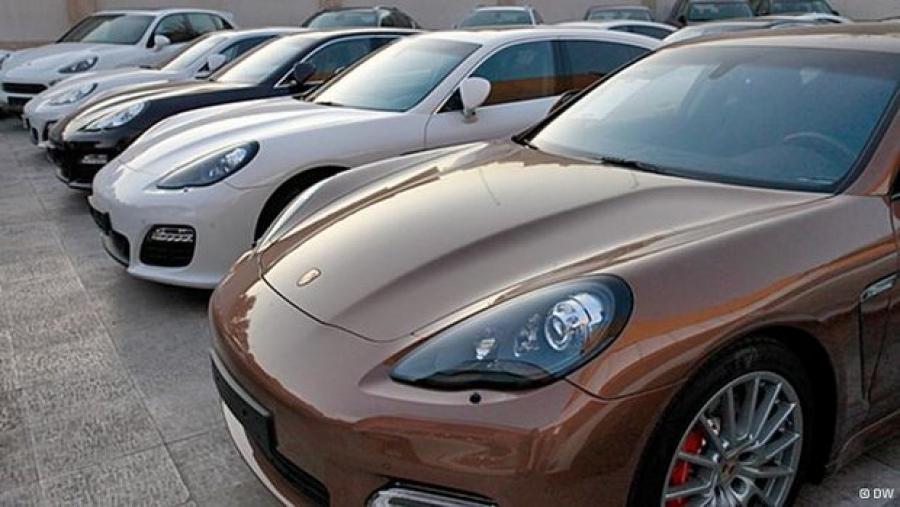 صادرات خودروهای لوکس متروکه