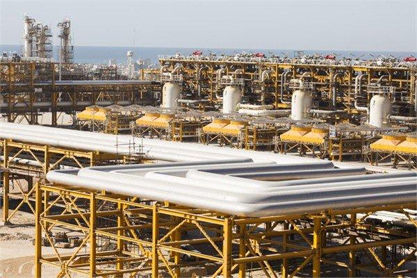 رکورد تولید گاز در پارس جنوبی شکسته شد