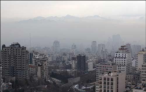افزایش آلودگی هوا در شهرهای بزرگ