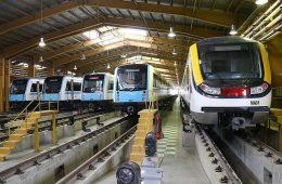 واگن های مترو تهران باید دو برابر شود