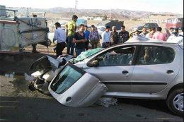دولت مکلف به کاهش ۳۱ درصدی حوادث رانندگی شد