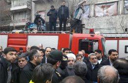 امیدواریم برخی از آتش نشانان گرفتار زیر آوار به آغوش خانوادهها بازگردند