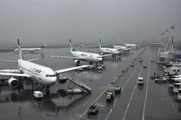 وضعیت پروازهای داخلی در فرودگاه مهرآباد