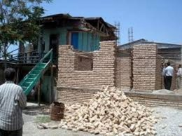 ۴۰ درصد از خانه های روستایی ضد زلزله است
