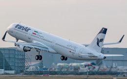 ایرباس A321 طی مراسمی به ایران تحویل شد