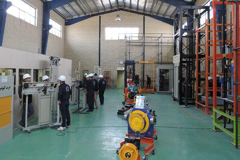 خانه مهارت مجهزترین مرکز آموزشی آسانسور و پلهبرقی در خاورمیانه