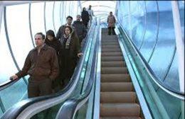 احداث پل عابر پیاده مکانیزه در بزرگراه شهید تندگویان