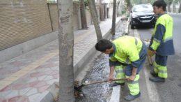 لایروبی کانال و معابر منطقه دو تهران