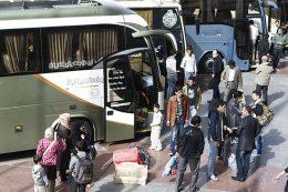 جابجایی مسافران نوروزی  با ۱۳هزار اتوبوس وسواری