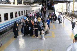 فروش ۵۰ درصد بلیتهای نوروزی قطار
