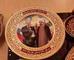 بشقاب ویژه کاخ کرملین در ضیافت پوتین به افتخار رئیس جمهور ایران