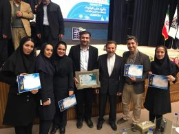 شهرداری منطقه ۶ جایزه ملی کیفیت گرفت