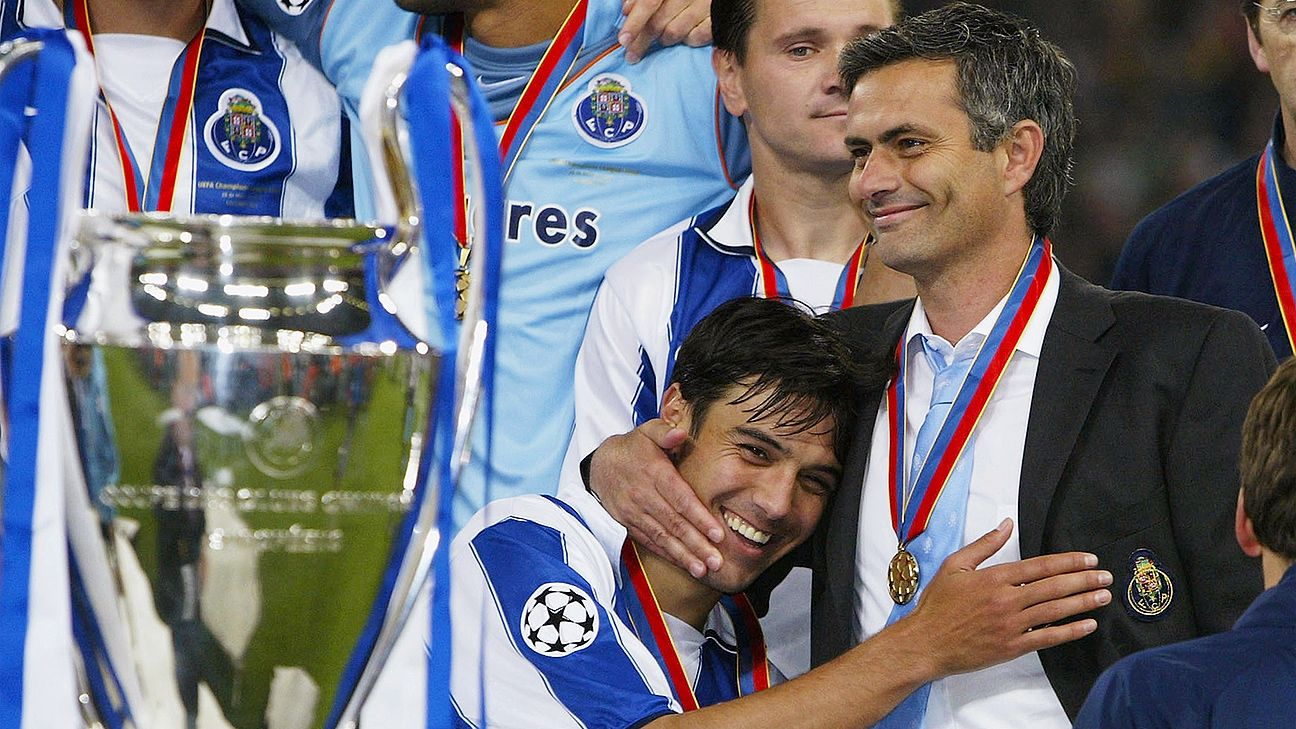 مورینیو قهرمان لیگ قهرمان