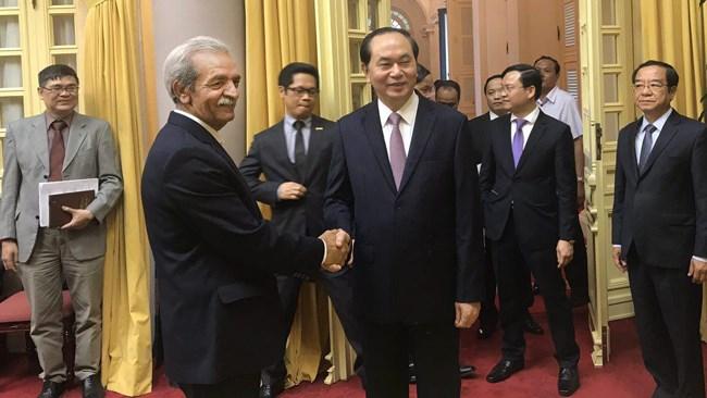 گسترش روابط تجاری ایران و ویتنام