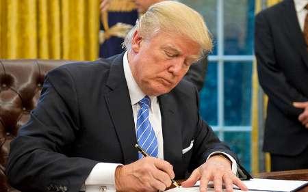 ترامپ آغاز اجرای مرحله اول تحریمها علیه ایران را امضا کرد
