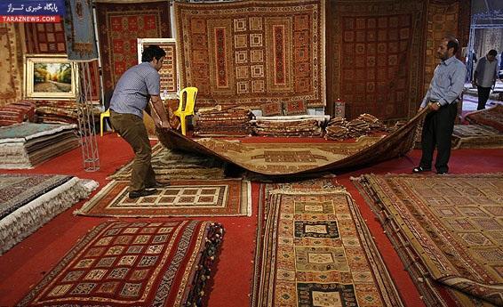 انتخاب فرش ایرانی به عنوان نماد تاریخ جاده ابریشم