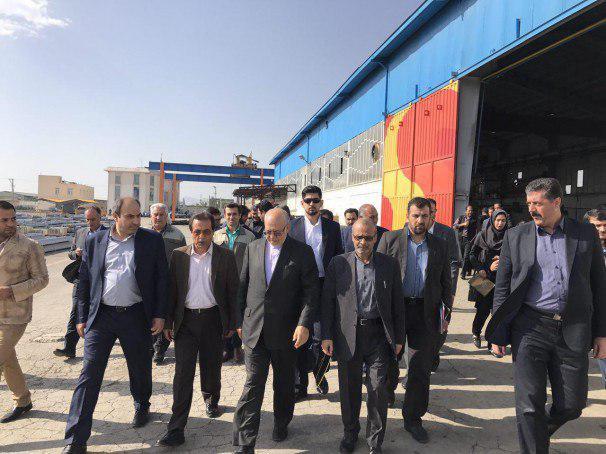 تولیدکننده صادراتمحور میزبان وزیر صنعت، معدن و تجارت در اراک شد
