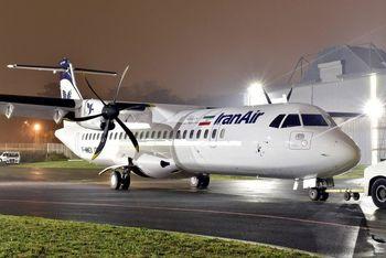 ۴ فروند هواپیمای ATR امروز تحویل ایران میشود