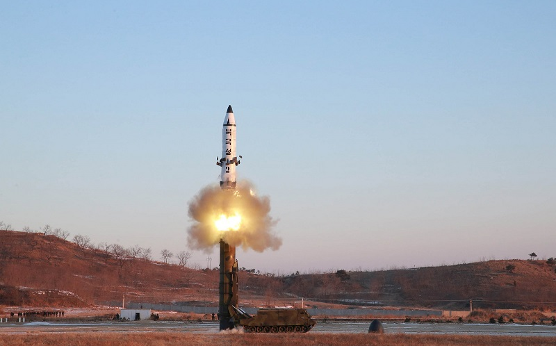 کره شمالی بار دیگر یک موشک بالستیک آزمایش کرد