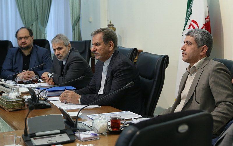 جلسه شورای اقتصاد به ریاست دکتر جهانگیری برگزار شد