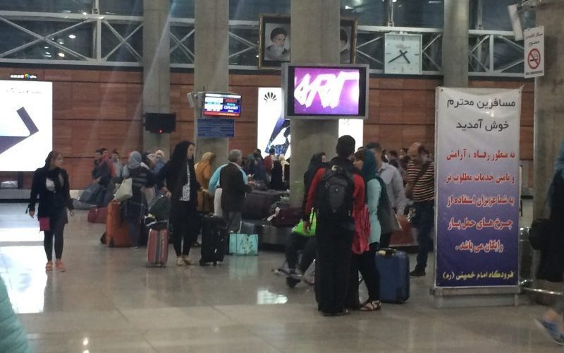 زمان ایستایی مسافران در فرودگاه امام کاهش مییابد