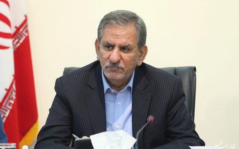 بازدید معاون اول رییس جمهور از روند پیشرفت آزادراه تهران – شمال