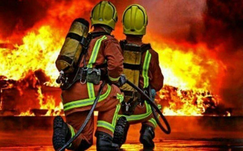 ۹ مصدوم در انفجار کارخانه فولاد بویراحمد