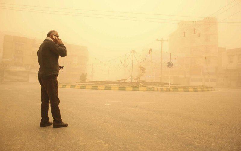 پیشبینی گرد و خاک برای خوزستان و ایلام