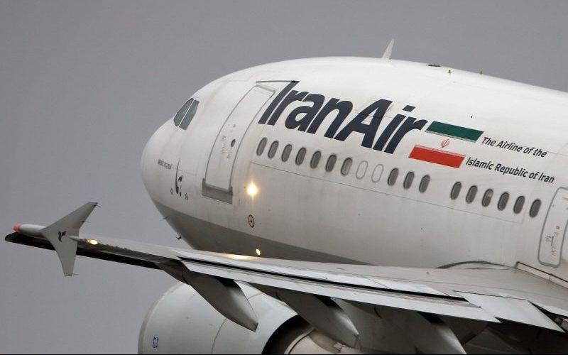 نقص فنی در هواپیمای ایرانایر