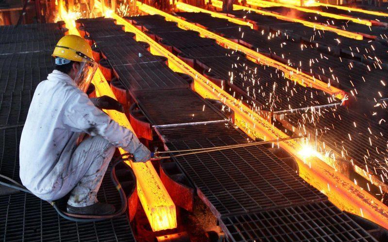تولید 132 هزار تن آهن اسفنجی در کارخانه فولاد چهارمحال و بختیاری