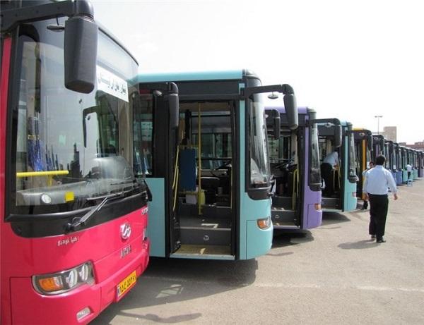 خطرات احتمالی مربوط به ایمنی اتوبوسهای منطقه ۱۱ رفع شد