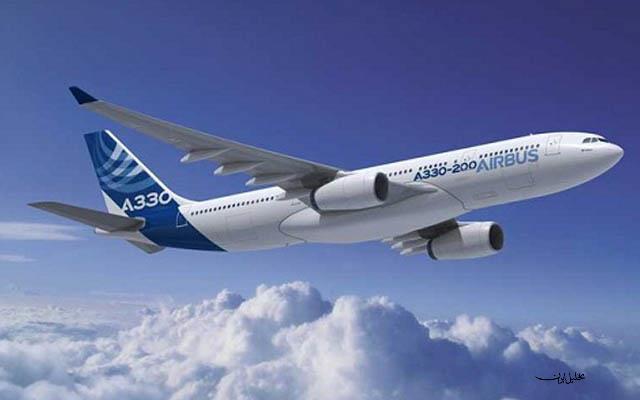 ایرباس ۳۳۰ ایرانایر نخستین پرواز بینالمللی خود را انجام داد