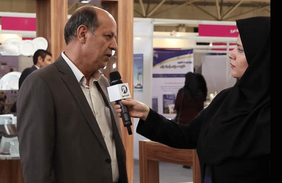 مصاحبه با نایبرئیس انجمن سرامیک ایران