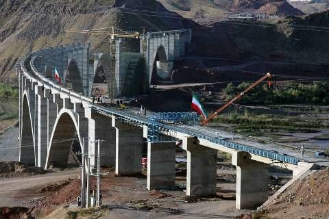 راهآهن قزوین–رشت تابستان افتتاح میشود