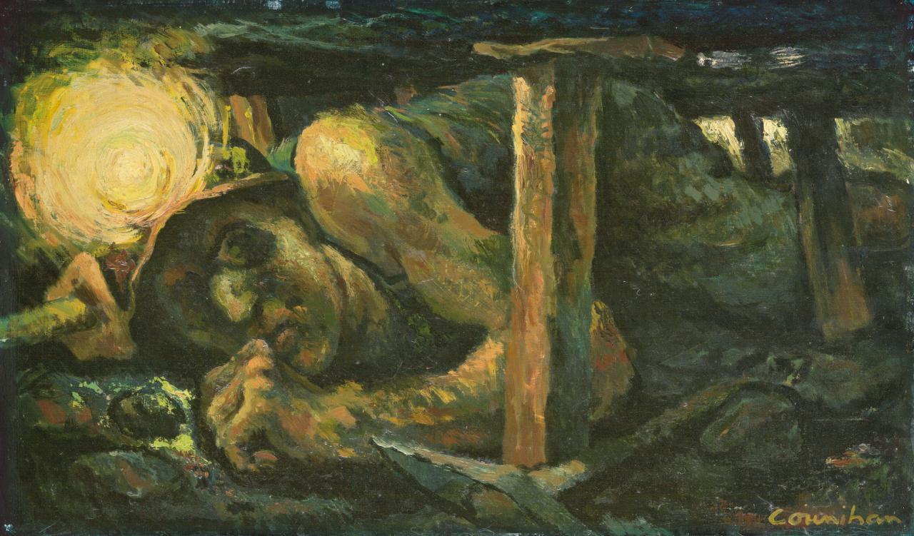 نقاشی معدنچی کونیهان
