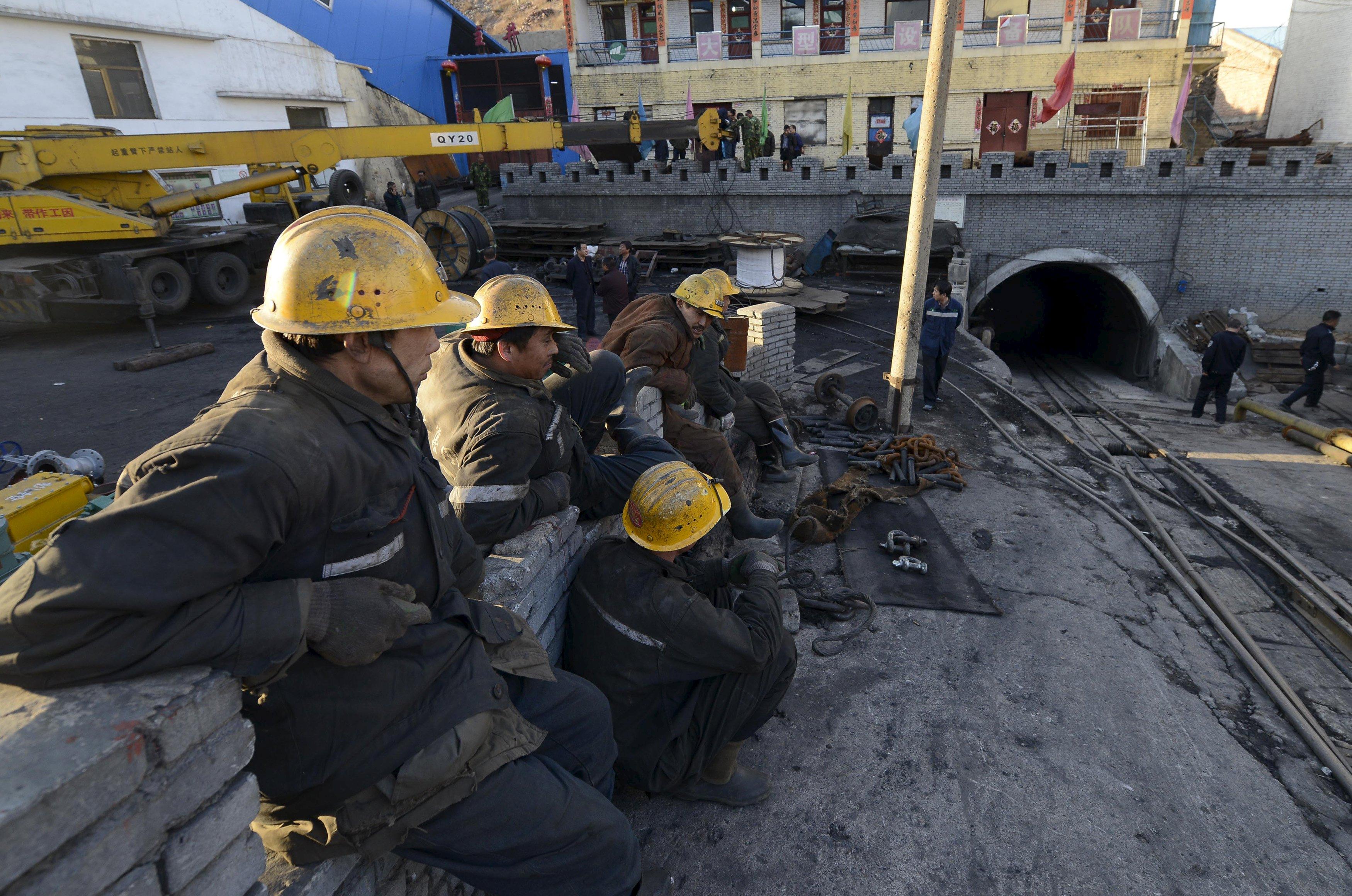 انفجار معدن چین