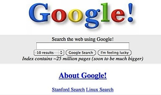 اول محتوا بعد سئو گوگل 1998