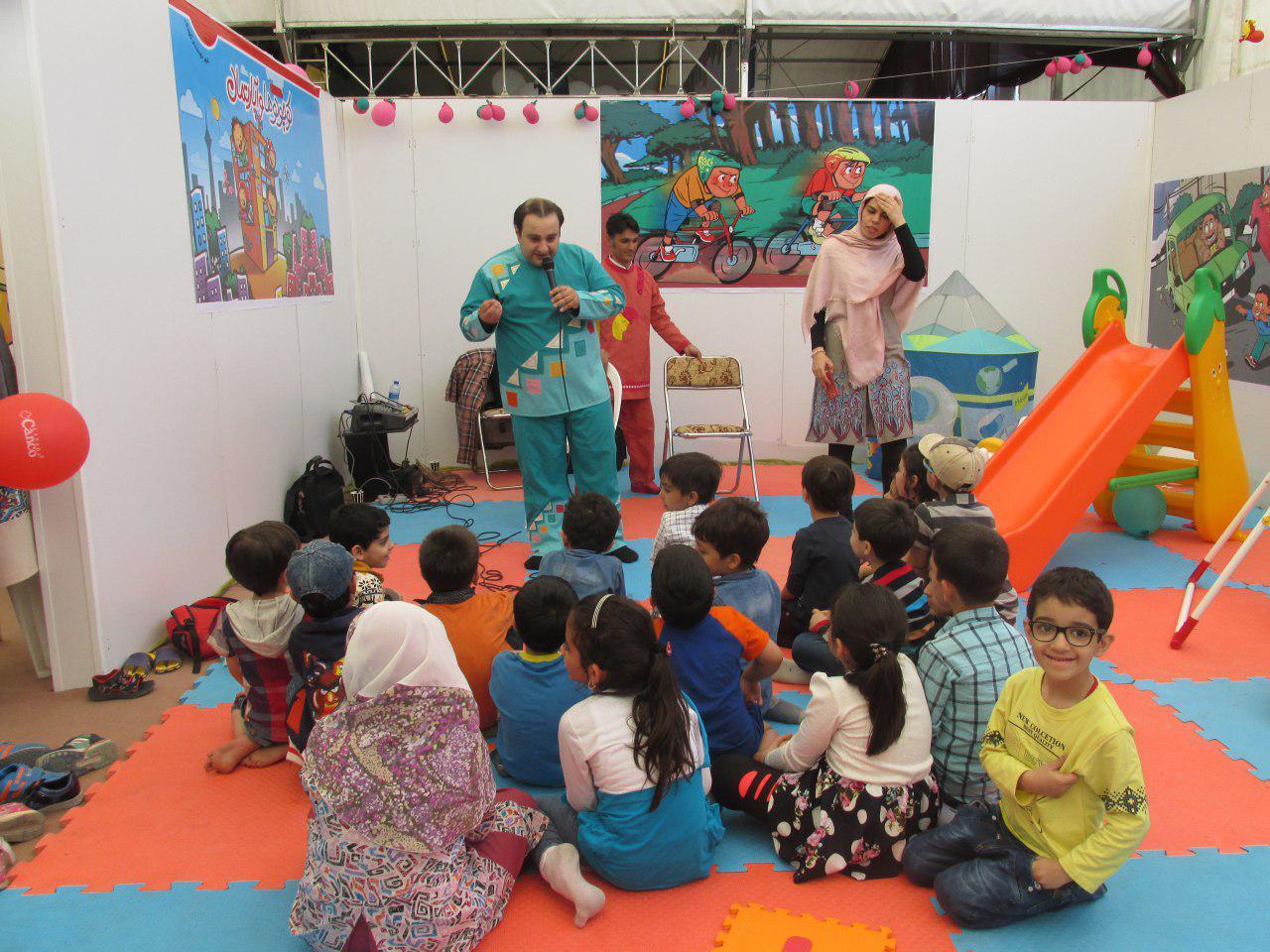 برگزاری غرفه آموزشهای شهروندی در شهر آفتاب