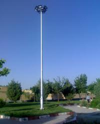 29 برج نوری در بوستانهای منطقه 4 نصب شد