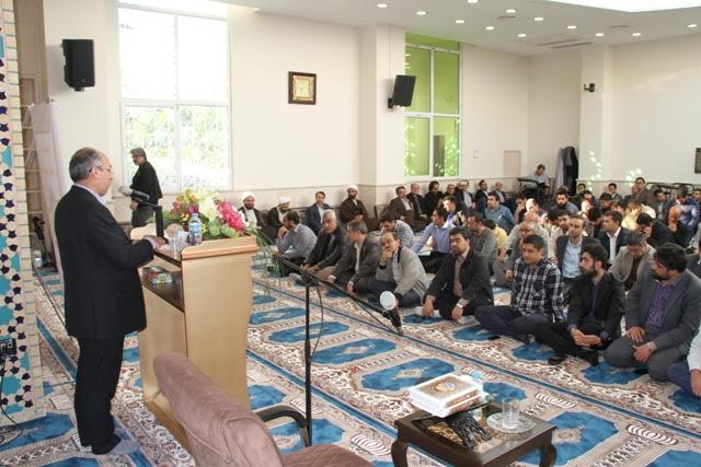 مسجد حضرت خدیجه (س) در بوستان بانوان افتتاح شد