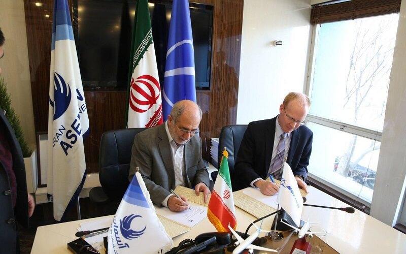 آسمان و بوئنیگ قرارداد نهایی خرید 30 فروند هواپیما را امضا کردند