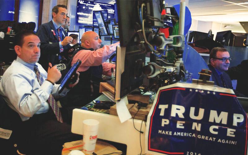 ترامپ با بورس آمریکا چه کرد؟