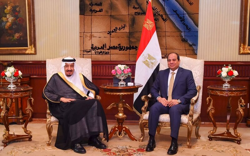 حاکمیت جزایر مصر به عربستان واگذار شد