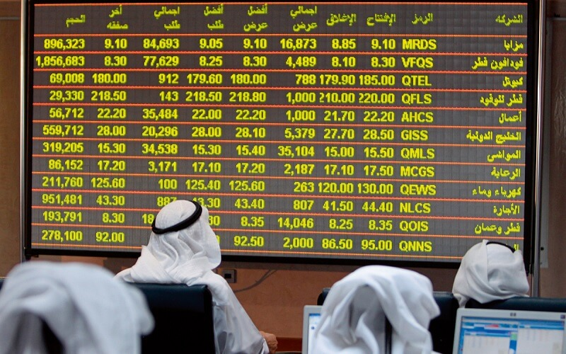 شاخص سهام قطر افت کرد