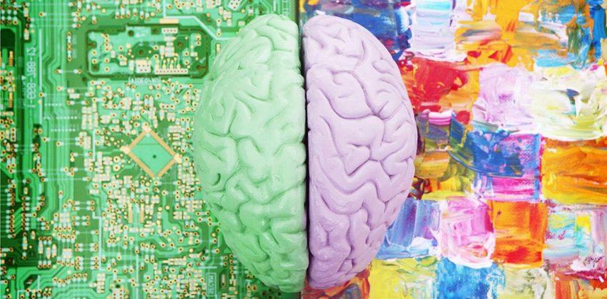 نیمکره مغز خلاقیت هنر منطق علم