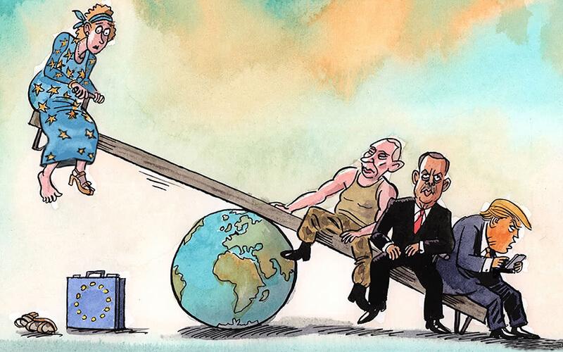 چه کسانی معادلات اتحادیه اروپا را را بر هم میزنند؟
