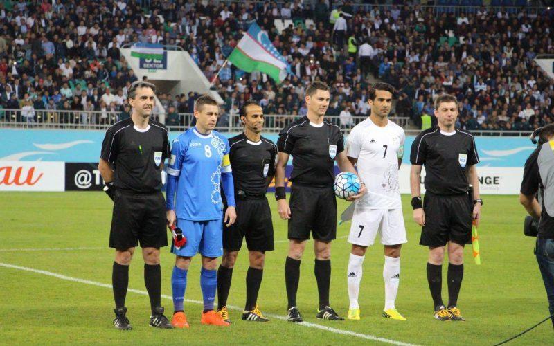 داوران عمانی بازی ایران و ازبکستان را قضاوت میکنند