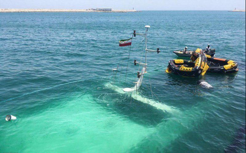 علت غرق شدن کشتی دنا در کیش، اعلام شد